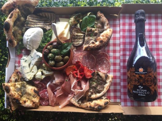 anti pasto picnic shot